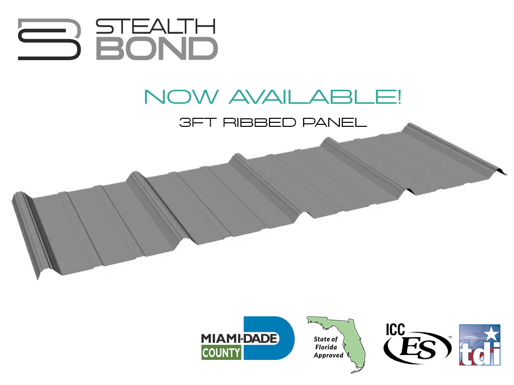 StealthBond® Expands Their System with New Panel Offering