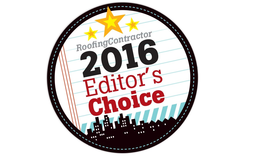 StealthBond© Named Roofing Contractor Magazine's Editor's Choice for 2016