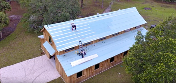 Wedding Barn Metal Roof in Florida: Designed for Durability and Aesthetics